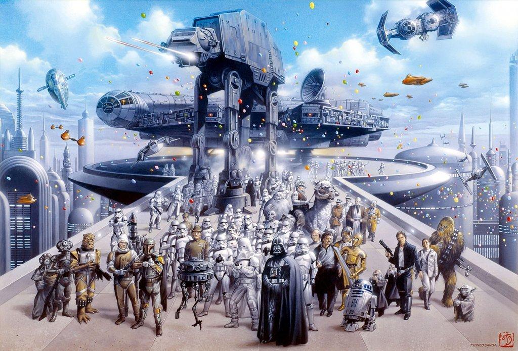 """Tolle StarWars Bilder """"Best of"""" Star-wars-cast"""
