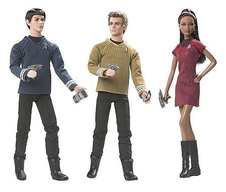 spock kirk uhura barbies
