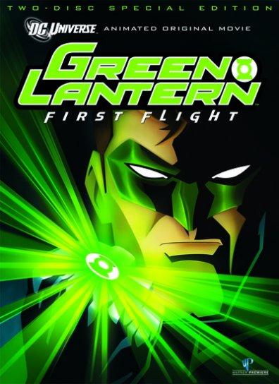 Green lantern first flight il film animato del
