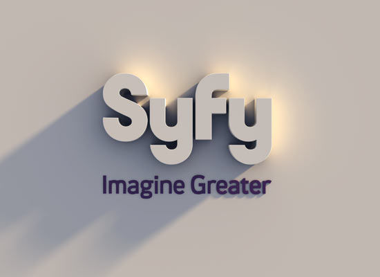 scifi channel's new logo syfy