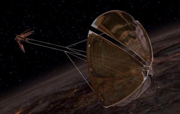 dooku's solar sail