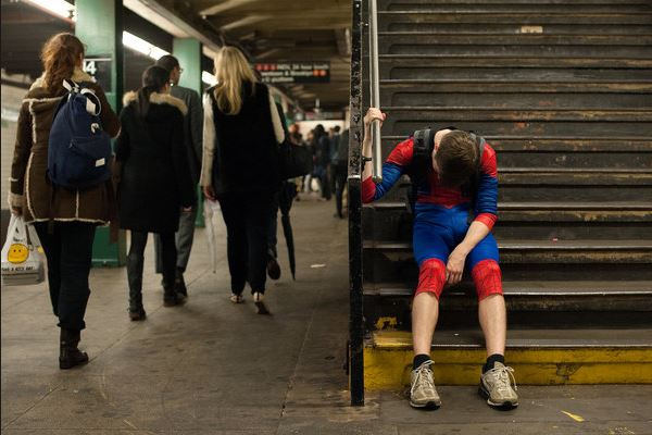 tired spidey