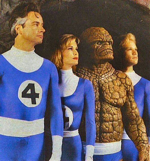 first fantastic four movie cast