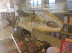 Y-Wing paper ship that is actual being hung by my co-workers hair