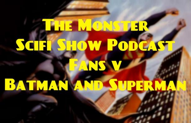 monster scifi show cover - batman and superman