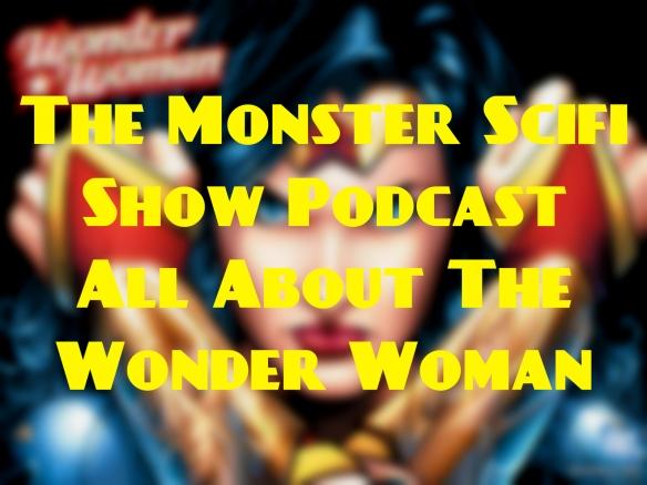 monster scifi show cover - wonder woman