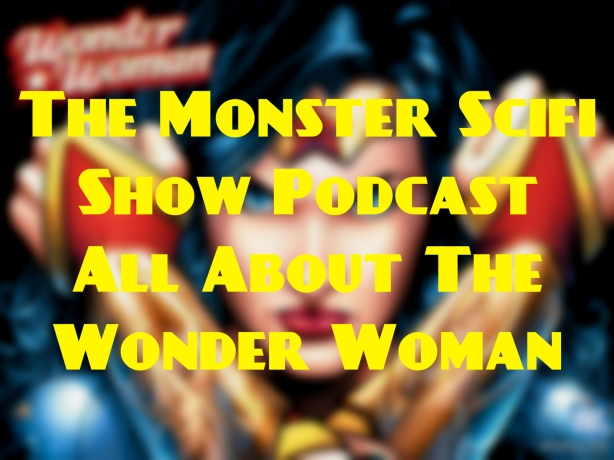 monster scifi show cover - wonder woman