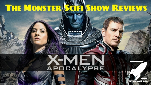 monster scifi show cover - xmen apocalypse