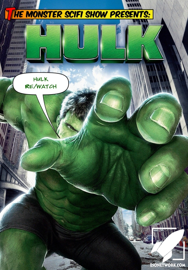 monster scifi show cover - rewatch hulk 2003